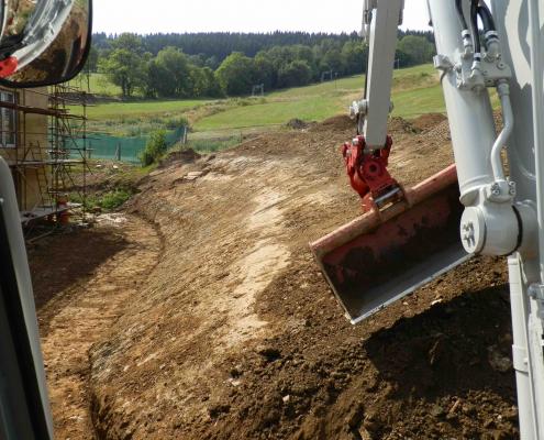 Zemní výkopové práce, terénní úpravy Dolní Morava